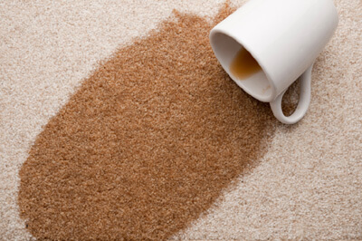coffee carpet stain removal