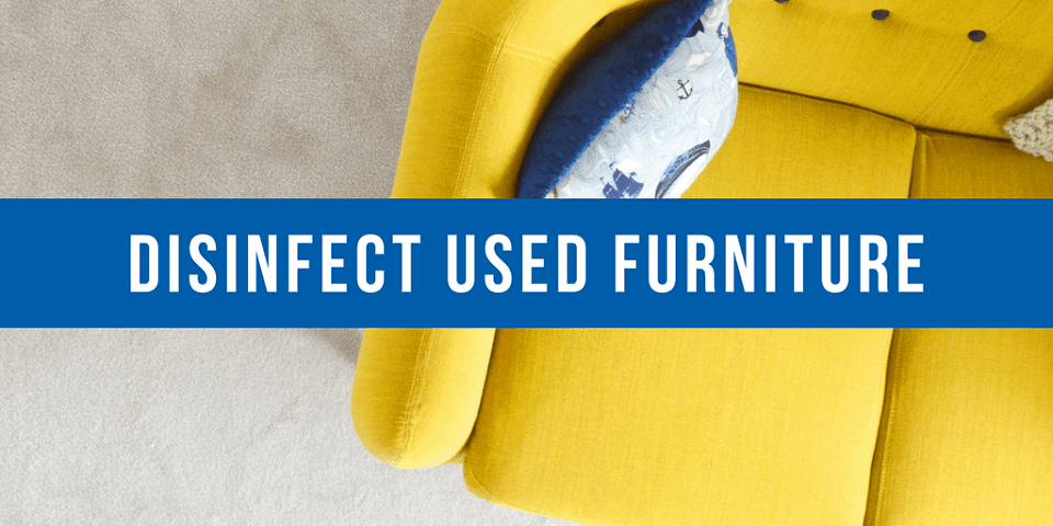 disinfect used furniture blog yellow couch