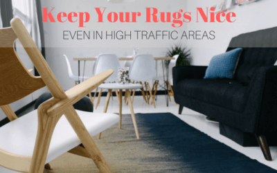 Keep Your Rugs Nice, Even in High Traffic Areas