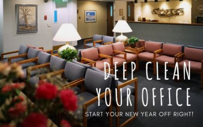 Deep Clean The Office & Start The Year Off Right