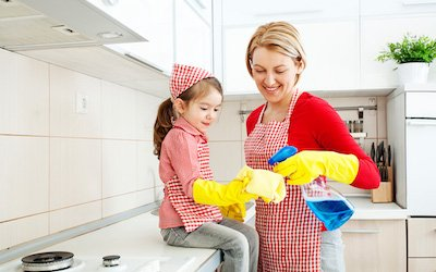 Developing a Family Cleaning Schedule
