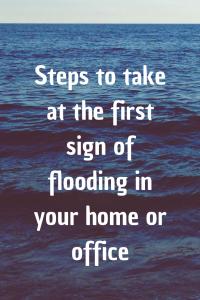 flooding tips