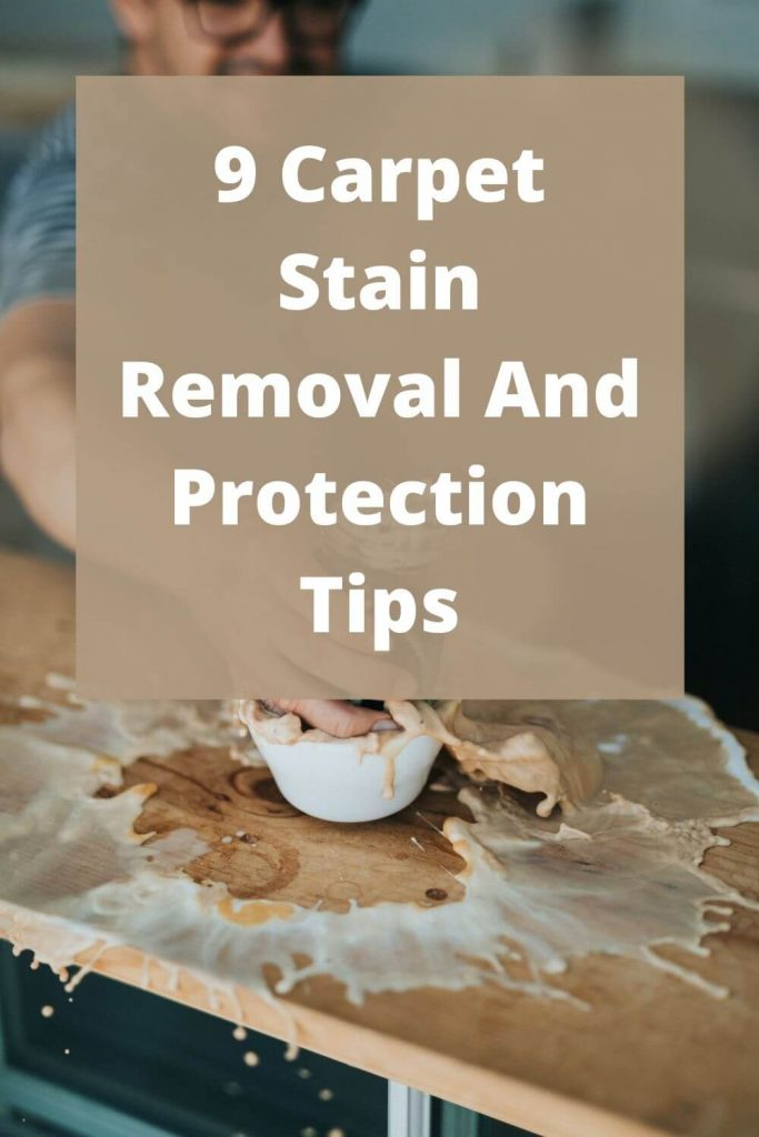 carpet stain removal tips