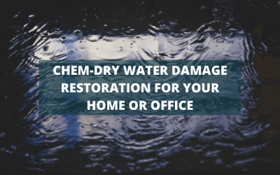 Chem-Dry Water Damage Restoration For Your Home Or Office